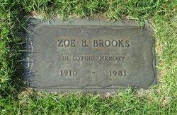 Zoe B <i>Elliott</i> Brooks