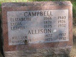 Margaret <i>Campbell</i> Allison
