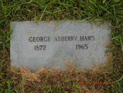 George Asberry Haws