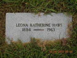 Leona Katherine <i>Burwell</i> Haws
