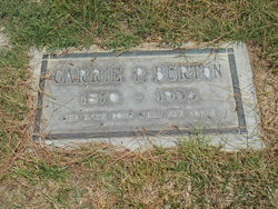 Carrie Pehit <i>Pettit</i> Burton