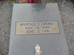 Myrtice Izora <i>Kent Boyd</i> Crowe