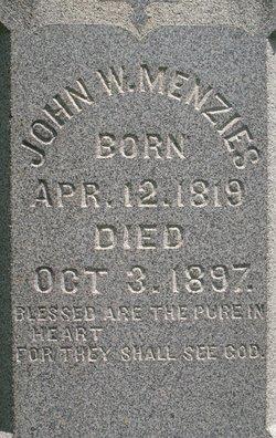 John William Menzies