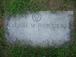 Yvonne Marie <i>Lagasse</i> Thibodeau