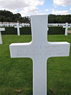 Cpl Charles F. Brown