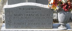 Mary Frances Fanchea <i>Corcoran</i> Bagby