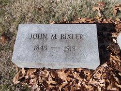 John Milton Bixler