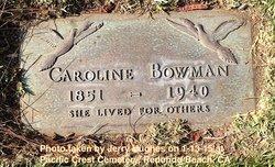 Caroline <i>Jayne</i> Bowman