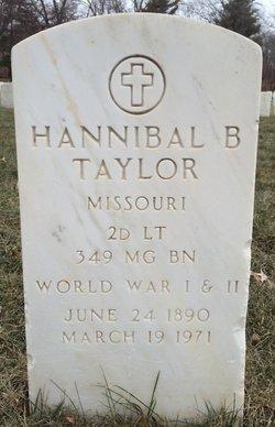Hannibal B Taylor