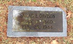 Sarah Elizabeth <i>McKinney</i> Davison