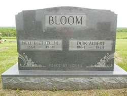 Nellie Ethelene <i>Reed</i> Bloom