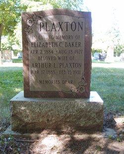 Elizabeth <i>Baker</i> Plaxton