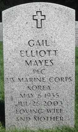 Gail Betty <i>Elliott</i> Mayes