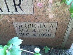 Georgia A. Blair