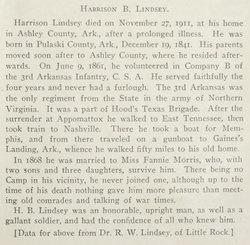 Harrison B. Lindsey