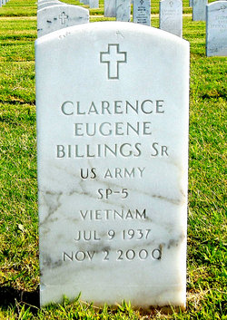 Clarence Eugene Billings, SR