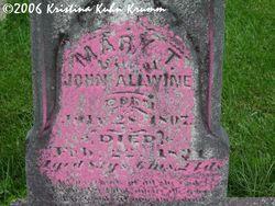 Mary Theresa <i>Brooks</i> Allwine
