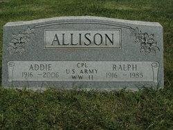 Addie Loree <i>Shutt</i> Allison