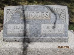 Leah Rhodes <i>Rhodes</i> Rogers