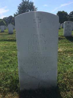 Col John Henry Heil, Jr