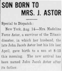 John Jacob Jakey Astor, V