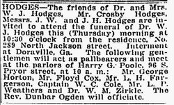 Dr William Josiah Hodges