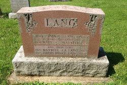 Mary C. <i>Maxwell</i> Lang