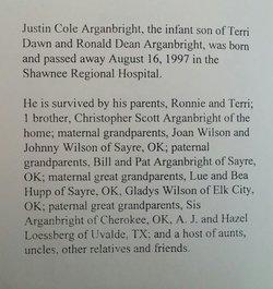 Justin Cole Arganbright