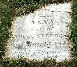 Anna <i>Cogswell</i> Stoddard