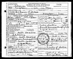 Mary Pawnee Mamie <i>Easley</i> Wilcox