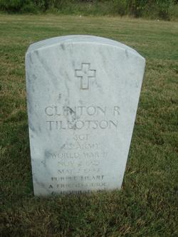 Clinton R Tillotson