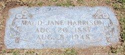 Maud Jane Harrison