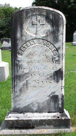 Betsey <i>Rhodes</i> Chittenden