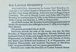 Ira L. Brumley