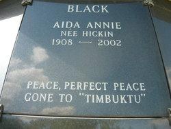 Aida Annie <i>Hickin</i> Black