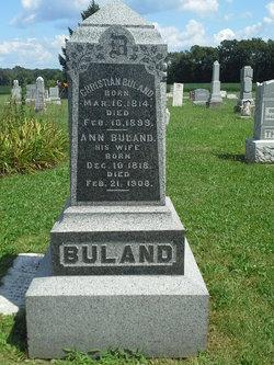 Ann <i>Knutson</i> Buland