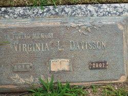 Virginia Lee <i>Heater</i> Davisson