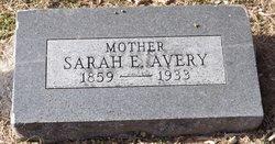 Sarah Jane <i>Eccles</i> Avery