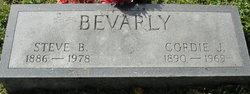 Stephen B Beverly
