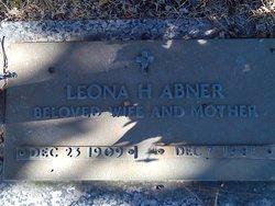 Leona Hattie <i>Stone</i> Abner