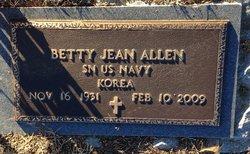Betty Jean <i>Brunson</i> Allen