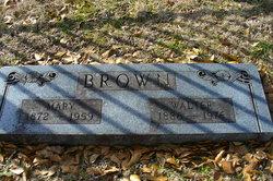 Walter B Brown