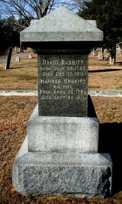 Hannah <i>Howland</i> Babbitt