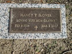 Nancy <i>Tanner</i> Slover