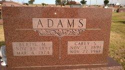 Carey Sylvester Adams