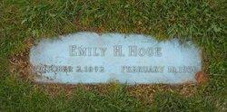 Emily Frances <i>Hoge</i> Hoge