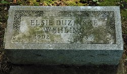 Elsie <i>Wehling</i> Duzinski