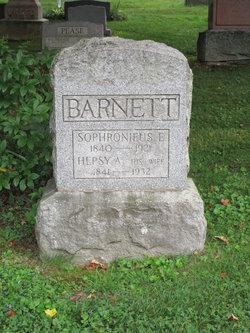 Sophronius E. Barnett