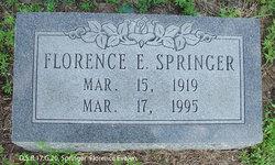 Florence Evelyn <i>Walters</i> Springer