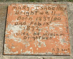 Mary Isabelle Brightwell